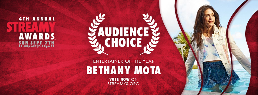 AudienceChoice_Bethany_Mota_Facebook