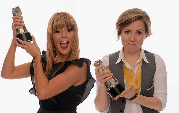 COMEDIANS GRACE HELBIG AND HANNAH HART TO HOST THE STREAMYS
