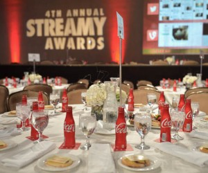 4th Annual Streamy Awards Presented By Coca-Cola - Inside
