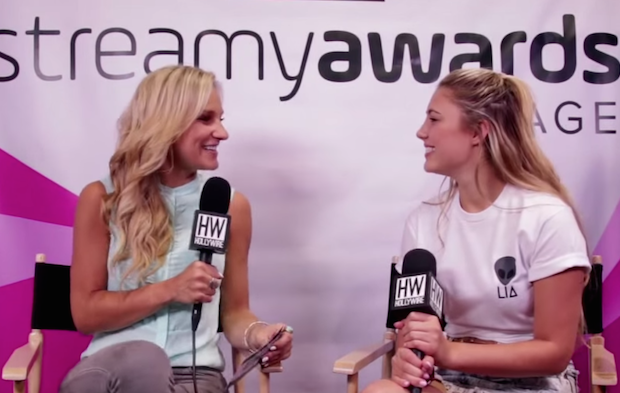 Interview with Lia Marie Johnson at VIDCON 2015