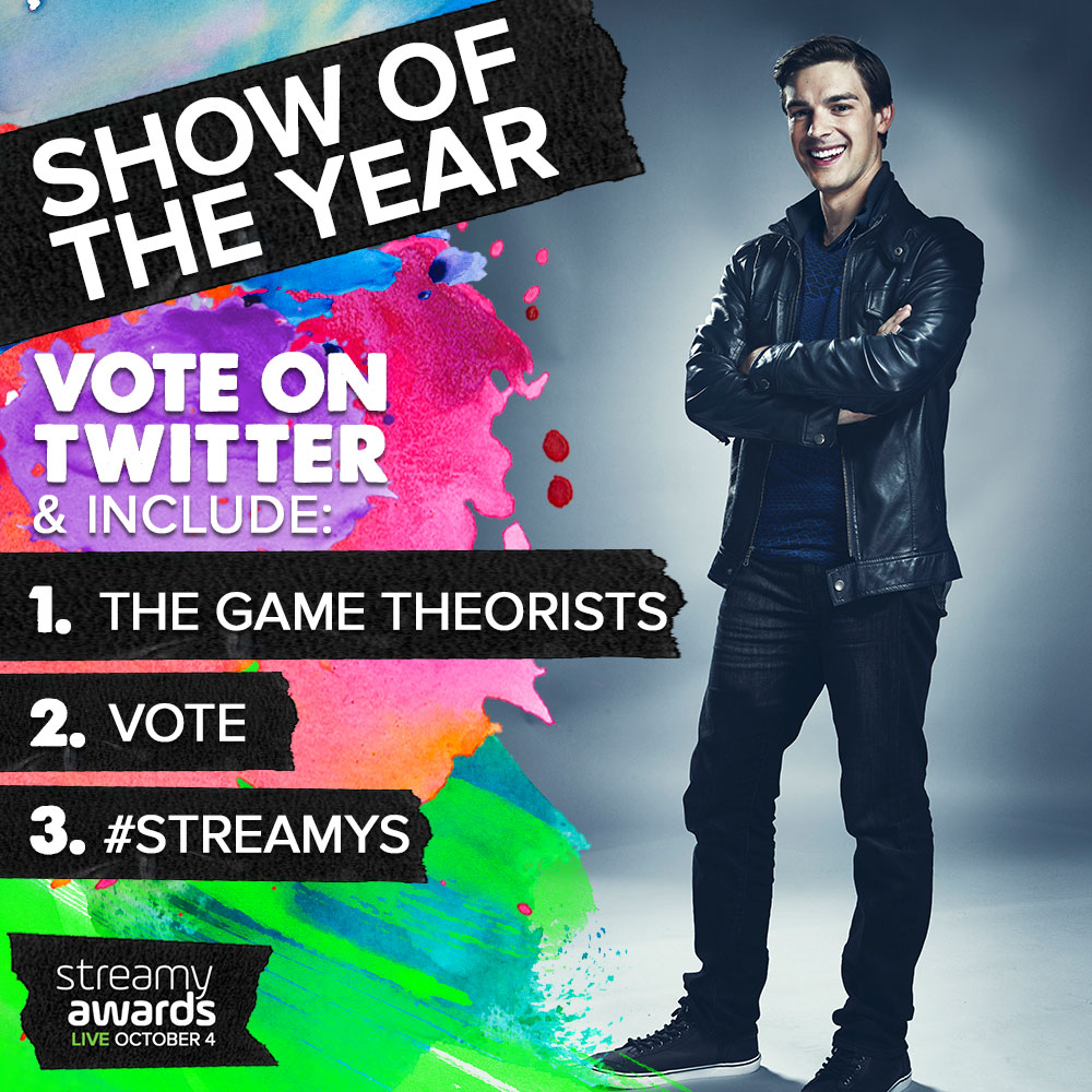 How To Vote for The Game Theorists for Streamys Show of the Year