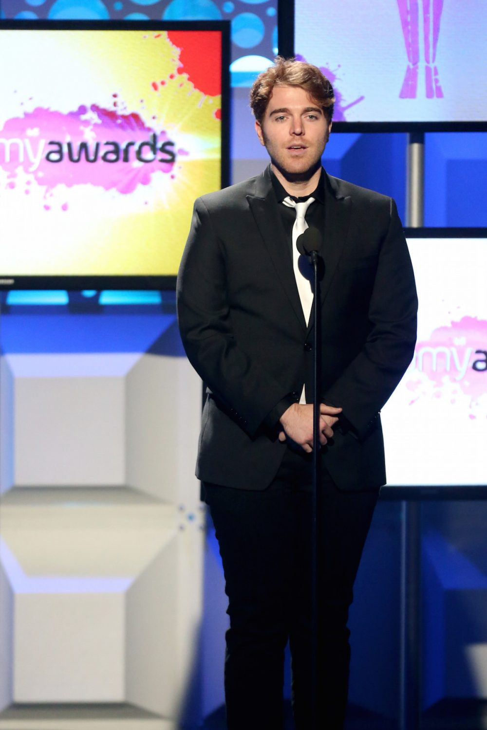 BEVERLY HILLS, CA - OCTOBER 04: Internet personality Shane Dawson speaks onstage during a tribute to the late Christina Grimmie the 6th annual Streamy Awards hosted by King Bach and live streamed on YouTube at The Beverly Hilton Hotel on October 4, 2016 in Beverly Hills, California. (Photo by Frederick M. Brown/Getty Images for dick clark productions )