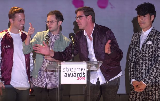 The Try Guys Win Non-Fiction (2016)