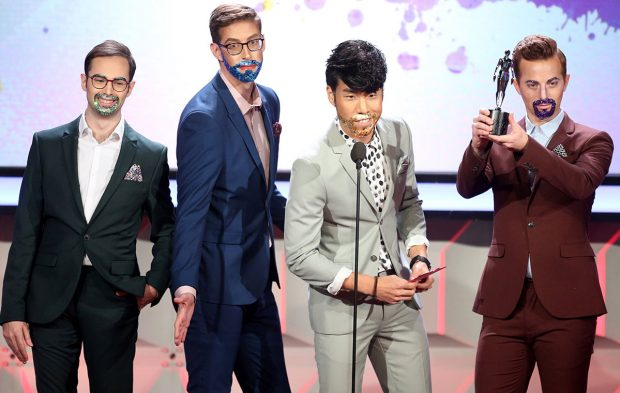 The Try Guys Take on the 6th Annual Streamy Awards