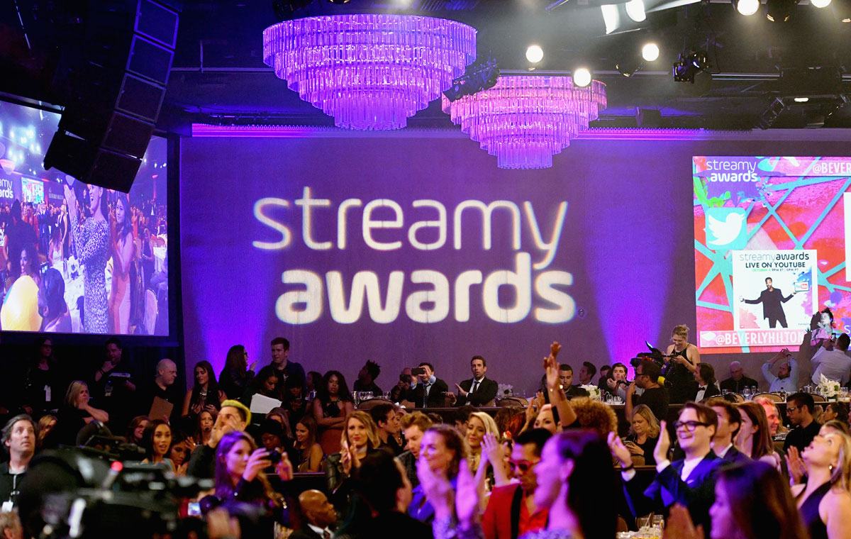 Image result for streamy awards